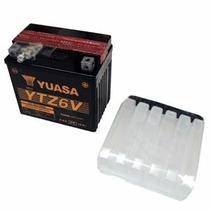 Bateria Yuasa Ytz6v Titan 150 Es/esd/mix/xre300/ybr Factor