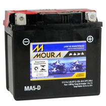 Bateria Selada Ma5-di 5ah Quadriciclo Quadsport Z50 Yfm 350r