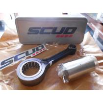 Biela Honda Cbx 200 Strada,nx 200,xr 200 Forjada Marca Scud