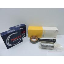 Biela Completa Kit Honda Cg Titan 150 - Metal Leve