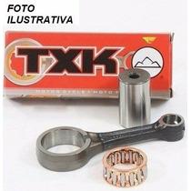 Biela Completa Txk (oem) Pino 15mm Competição Cg 125
