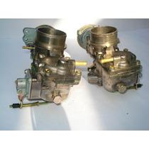 Carburador(par) Kombi/fusca/brasilia A Alcool/gasolina