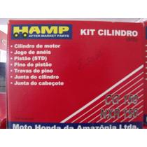 Cilindro Pistão Aneis Titan 150 Honda Hamp Original Std!