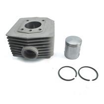 Cilindro Motor Mobilete 50 Cc Com Pistão E Aneis