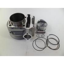 Cilindro C/pistão E Anéis Dafra Laser 150