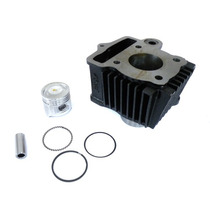 Cilindro Do Motor Kit Pistão Anéis Standard Shineray Xy50 Q