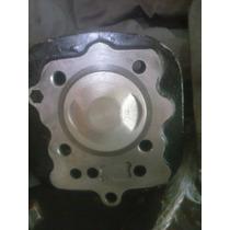 Kit Cilindro/pistão 63,5 200cc P/ Cg/titan/fan125 Pino 15mm