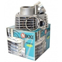 Kit Cilindro Pistao Aneis Motor Cb 300 R Xre Completo Nikki