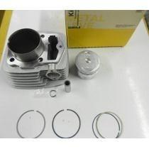 Cilindro Motor Kit Strada Cbx200 Pistão E Aneis (metal Leve)