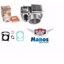 Kit 170cc Titan/fan150 C/pistão Kmp +ibooster+vela Iridium