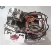 Kit Cilindro Pistao 200cc Para Cg125
