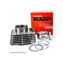 Kit Kmp C/ Cilindro. Pistao E Anel Kmp Shineray 50cc - Traxx