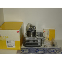 Kit Cilindro Pistao E Aneis Cg-today125 1976/1991 Metal Leve