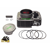 Kit Cilindro Motor 190 Cc Para Honda Cg Titan 150 / Bros 150
