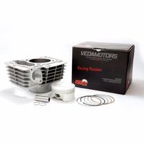 Kit Aumento Cilindrada 190cc Titan/fan/nxr150 Pistão 64,5mm