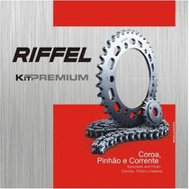 Kit De Relação Riffel Honda C100 Dream 1993 A 2014 Aço 1023