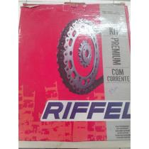 Kit Relacao Cg 125 Titan Es/ks - Riffel