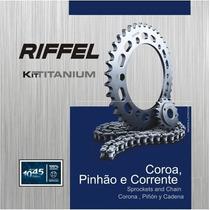 Kit De Relação Riffel Honda Cg125 Titan Es/ks 2000 A Diante$