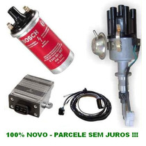 Kit Ignição Eletrônica Gm Opala Caravan Motor 6cc 100% Novo