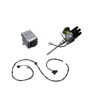 Kit Do Distribuidor Ignição Eletrônica Jeep Wyllis F75 Rural