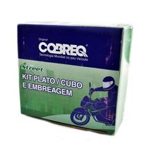 Kit Embreagem Cobreq Cubo Platô Disco Yamaha Ybr Xtz 125