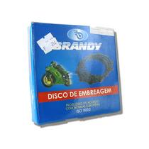 Disco De Embreagem Jogo Kit Brandy - Yamaha Ybr Xtz 125