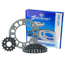 Relação Kit Honda Xlr125 97/02 - Nx150 (passo 428) - Siverst