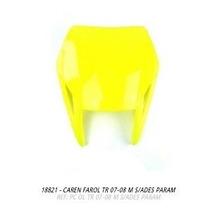 Carenagem Farol Xr250 Tornado 2007-2008 Amarelo S/adesivo