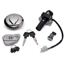 Chave De Ignição (kit) Honda Nx400i Falcon 2013 - Magnetron