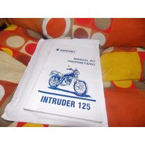 Manual Do Proprietário Suzuki Intruder 125 2001
