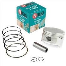 Pistão Com Anéis Honda Cb 300 E Honda Xre 300 0.25 - Nikki