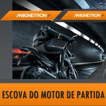 Escova Motor De Partida Titan150 Bros Fan150 - Magnetrom