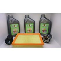 Óleo Selenia 5w30 100% Sintetico +filtros Fiat Idea 1.4 Fire