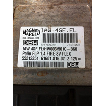 Modulo/central Injeção Eletronica Fiat Palio 1.4 Flex