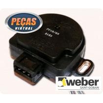 Sensor Tps(potenciometro) Tempra 16v /94 Pf09/04 Weber
