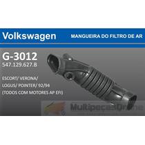 G3012 Mangueira Filtro Ar Escort/ Verona/ Logus/ Pointer Ap