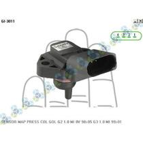 Sensor Map Pressão Coletor Gol G2 1.0 Mi 8v 98/05 G3 1.0 Mi