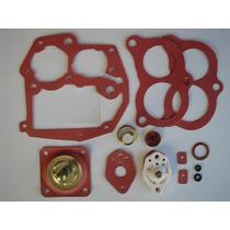 Kit Junta De Carburador 2e ,3e Weber 40/44 Em Borracha