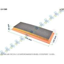 Filtro De Ar Fiesta 1.0 Supercharger 02/... Ecosport 1.0