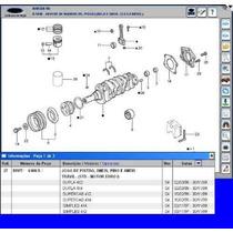 Kit Pistão Anéis Jg Juntas D Motor Maxion 2.5 F1000 Ranger