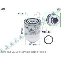 Filtro De Combustivel Asia Motors Hyundai Besta Mitsubishi