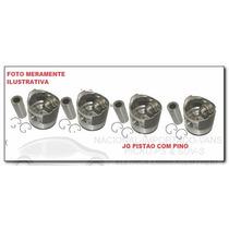 Jg Pistao Motor Std Ford Escort 1.6 8v Bloco Cht Alcool