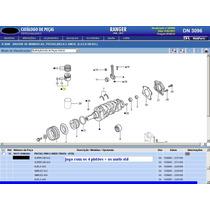 Jg Pistão E Anéis 0,50 Do Motor Maxion 2.8 Ranger 01a05