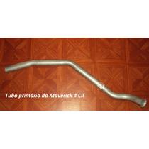 Tubo Cano Primário Motor Escapam Descarga Maverick 4 6 Cil