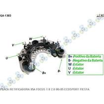 Placa Retificadora Ford Fiesta 85a - Gauss
