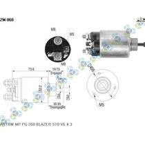 Automatico Motor De Partida Pg-260 Blazer S10 V6 4.3