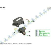 Regulador De Voltagem Volvo Globetroter 05/98... 28v - Gauss