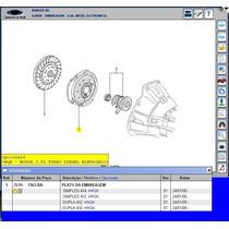 Platô Disco Atuador D Embreagem Ranger 3.0 Mwm Diesel