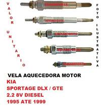 Vela Aquecedora Kia Sportage 2.2 8v Diesel 1995 Ate 1999