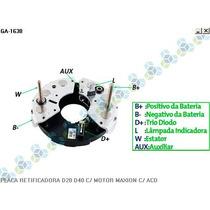 Placa Retificadora Gm Bonanza 75a - Gauss